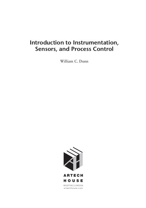 introduction to sensors books introduction to instrumentation sensors and process