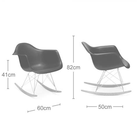 Charles Eames Chair White Design Ideas Charles Eames Style White Rar Rocker Chair Modern Chairs Cult Uk