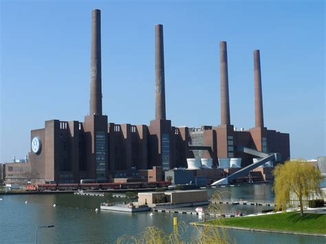 Autostadt Volkswagen Factory In Wolfsburg Germany