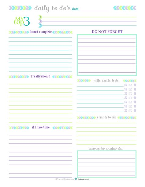 printable daily to do calendar day 27 to do list printables scattered squirrel