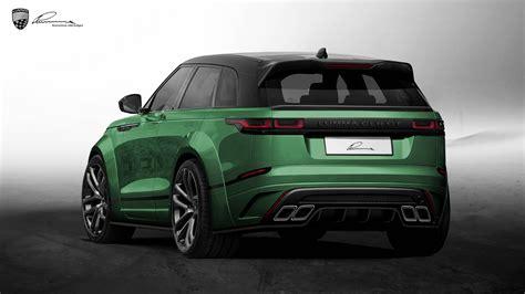 Official Lumma Design Range Rover Velar Clr Gt Gtspirit