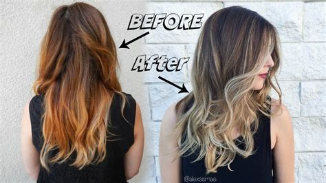 fall sombre hair color ft new redken shades eq 09p youtube