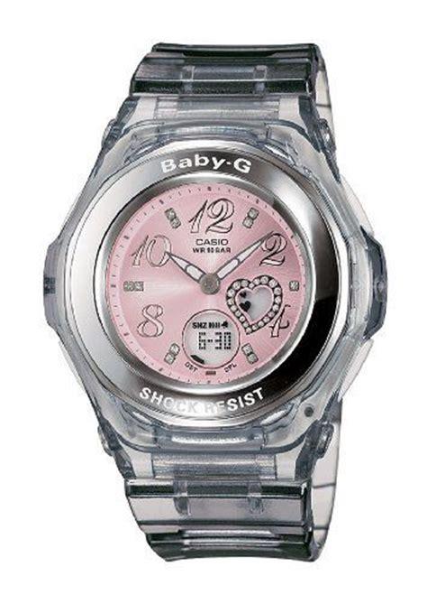 Led Sport Watches Aa W027 White casio s bga100 8b baby g gem analog sport