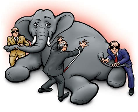 three blind and an elephant www thoughtoftheweek co uk