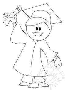 graduation coloring pages graduation cap coloring sheet coloring pages