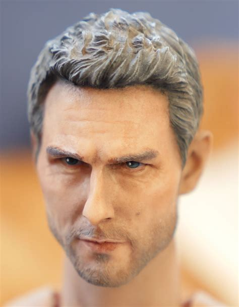 vincent hair michael enea collateral vincent 1 6 scale repaint