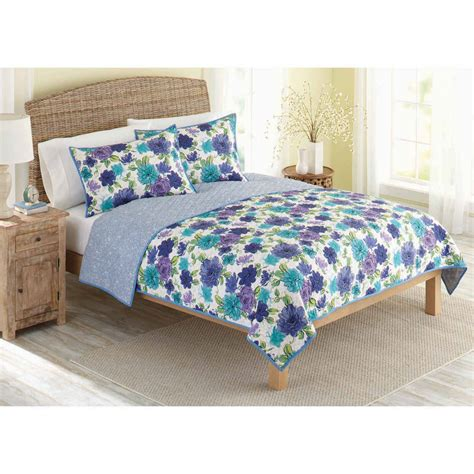 better homes and gardens jeweled damask bedding quilt