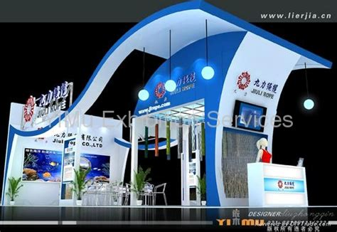 booth design materials china design exhibition stand and construction eb yimu