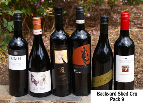 buy mclaren vale wines backyard shed cru 9 taste