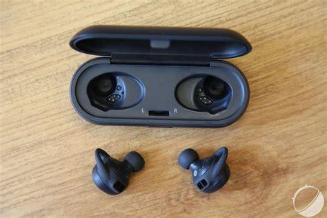 Test des Samsung Gear IconX, des écouteurs connectés pour les sportifs   FrAndroid