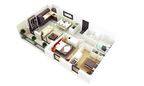 Kasur Lantai Ukuran Besar 15 denah rumah minimalis 2 kamar tidur 3d 2018 terbaru
