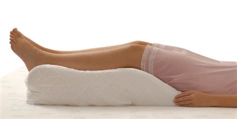 pillow to elevate legs in bed leg relaxer