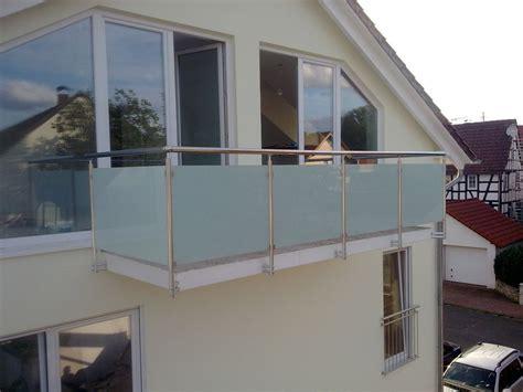 balkongeländer glas balkongel 228 nder glas aluminium balkon gel 228 nder vsg glas ebay