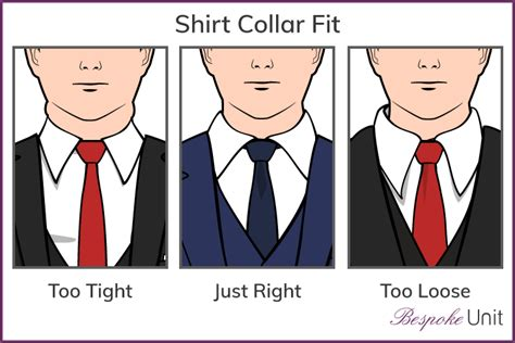 how tight should a collar be how a dress shirt should fit bespoke unit guide to menswear