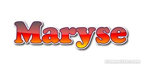 maryse name maryse logo free name design tool from flaming text