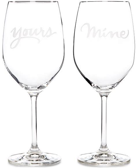 Kate Spade Barware by Kate Spade New York Two Of A Yours Mine Wine