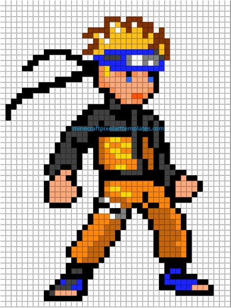 imagenes de goku en minecraft minecraft pixel art templates a whole bunch of geekery