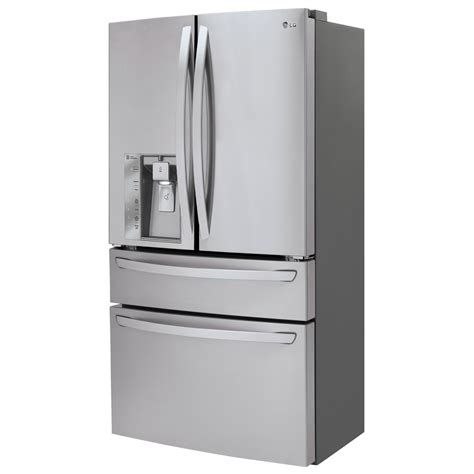 refrigerator counter depth door lmxc23746s lg appliances collection 36 quot 22 7 cu ft counter depth 4 door