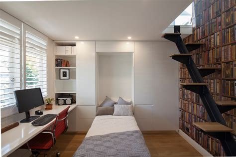 balmain residence modern home office sydney by