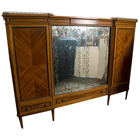 french style armoires wardrobes french directoire style wardrobe cabinet or armoire by