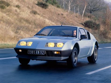 Renault Supercar by 1981 Renault Alpine A310 V6 Supercar V 6 Wallpaper