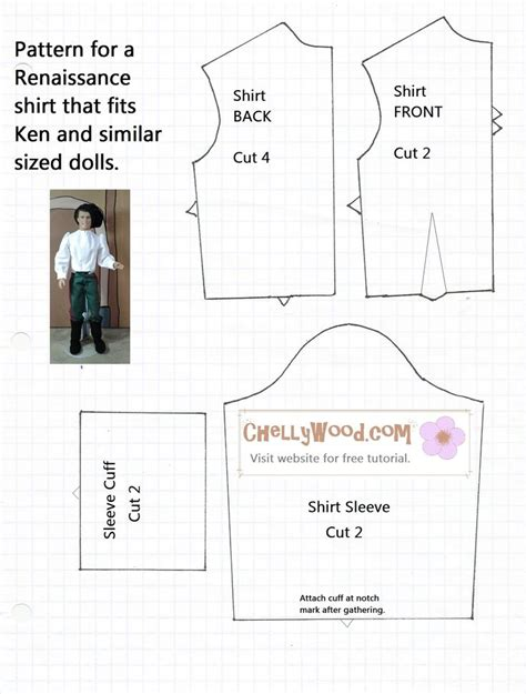 pattern for ken clothes free printable ken doll clothes patterns google search