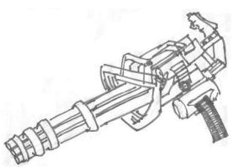 minigun coloring page minigun coloring pages coloring pages