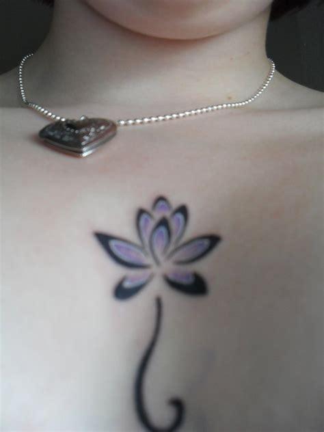 tattoo flor de lotus estilizada tatuagem flor de l 243 tus