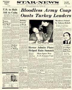 Pasadena Birth Records Pasadena Ca News Newspaper Archives May 27 1960