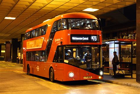 london bus routes route  oxford circus walthamstow