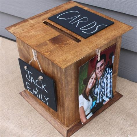 7 Wedding Chalkboard Inspirations   The Perfect Card Box