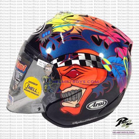 Helm Tsr Ram 4 Russel White arai helmet by masei helmet helmets bike
