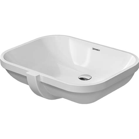 Buy Duravit 0338560000 Undercounter basin 56 cm D Code whi with of without tap platform at