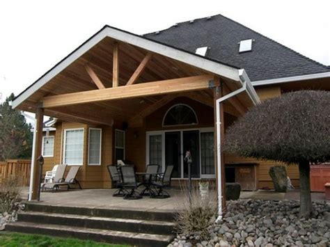 house with patio design free standing patio cover designs attaching porch roof to