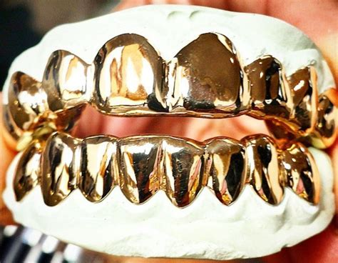jewelry stores that make grillz custom sterling silver 14k gold plated solid 6pc top