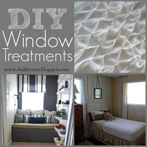 home decor window treatments diy window treatment round up quot diy home decor ideas