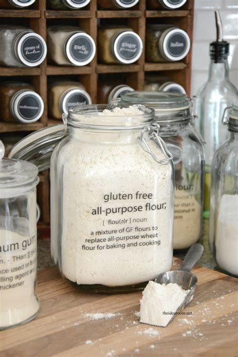 printable gluten  pantry labels  idea room