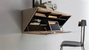 Wallmount Desk by Best Wall Mounted Desk Designs For Small Homes