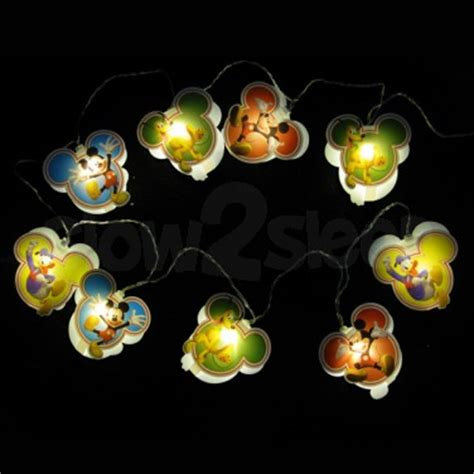 Mickey Led lights glow in the glow toys children s string lights torches