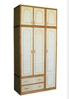 armarios de mimbre armario dos puertas fabricas de mimbre