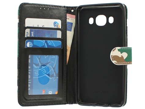 Samsung J7 2016 Army camouflage bookcase samsung galaxy j7 2016 hoesje