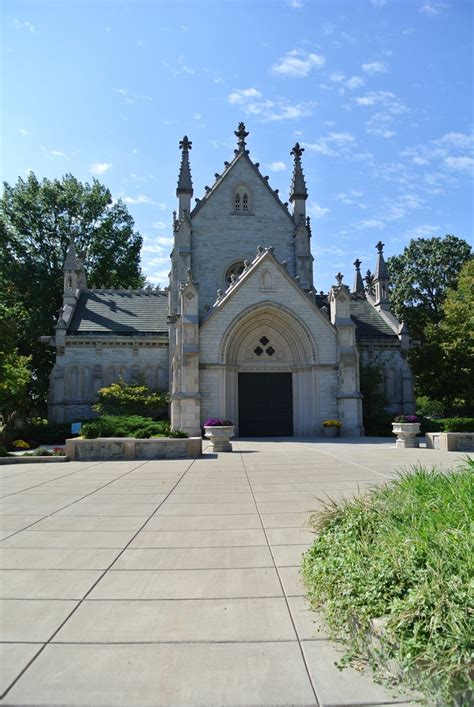 the chapel at crown hill cemetery crown hill
