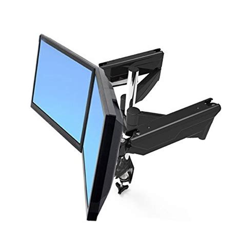 acer x34 desk mount suptek dual arm full motion lcd stand desk mount for 10