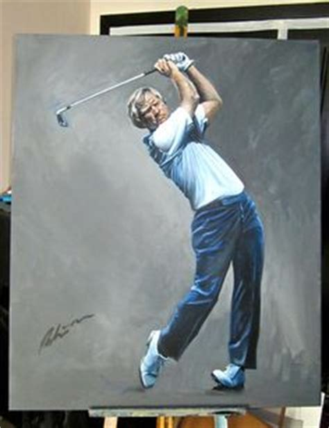 tiger woods swing portrait 1000 images about portrait paintings of american golfers