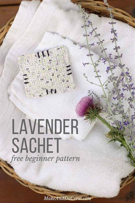 crochet lavender bags pattern free crochet dried lavender sachets free beginner pattern