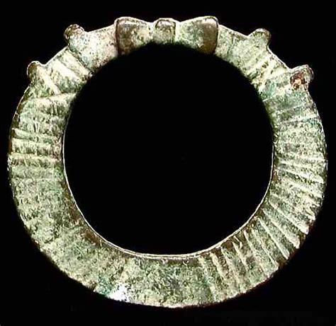 pancawarna garoet ring millenium busacca gallery syria or holy land bronze terret ring