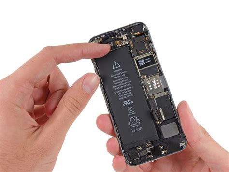 Dryer Iphone Battery how to replace the battery in your iphone 5s ifixit
