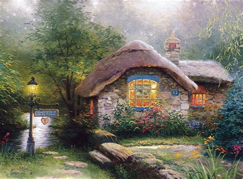 kinkade cottage collector s cottage the kinkade company