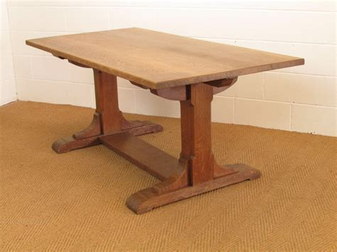 heals dining table heal s arts crafts oak refectory dining table antiques