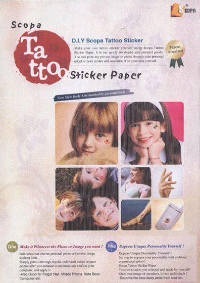 temporary tattoo paper office max laserjet temporary tattoo paper id 5922035 product